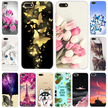 Silicone Case For Huawei Y5 2018 5.45 Inch Soft TPU Phone Y 5 Prime Cover on Lite DRA-LX5