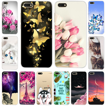 Silicone Case For Huawei Y5 2018 5.45 Inch Soft TPU Phone Case For Huawei Y 5 Y5 Prime 2018 Cover on Huawei Y5 Lite 2018 DRA-LX5 image