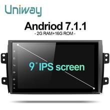 7.1.1 uniway ATY9071 2G + 16G Android de dvd del coche para Suzuki SX4 2006 2007 2008 2009 2010 2011 2012 2013 gps de radio del coche de navegación