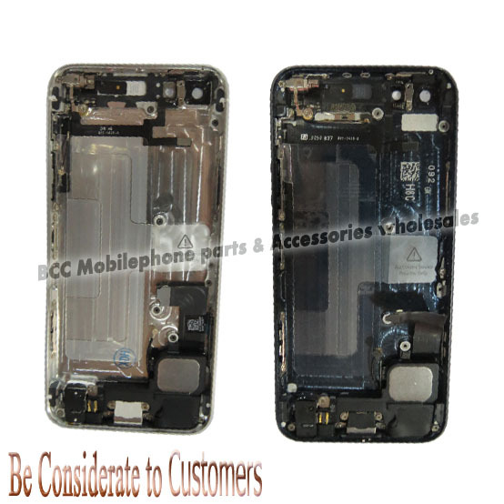 ФОТО Black or white for iPhone 5 Middle board full set complete assembly with small parts free 100% quality gurantee free shipping