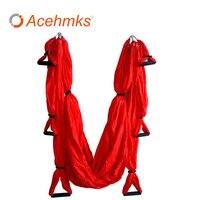 Acehmks Aerial Yoga Hammock Outdoor Adult Swing Hammock Nylon Fitness For Motion Leisure 250x150 CM