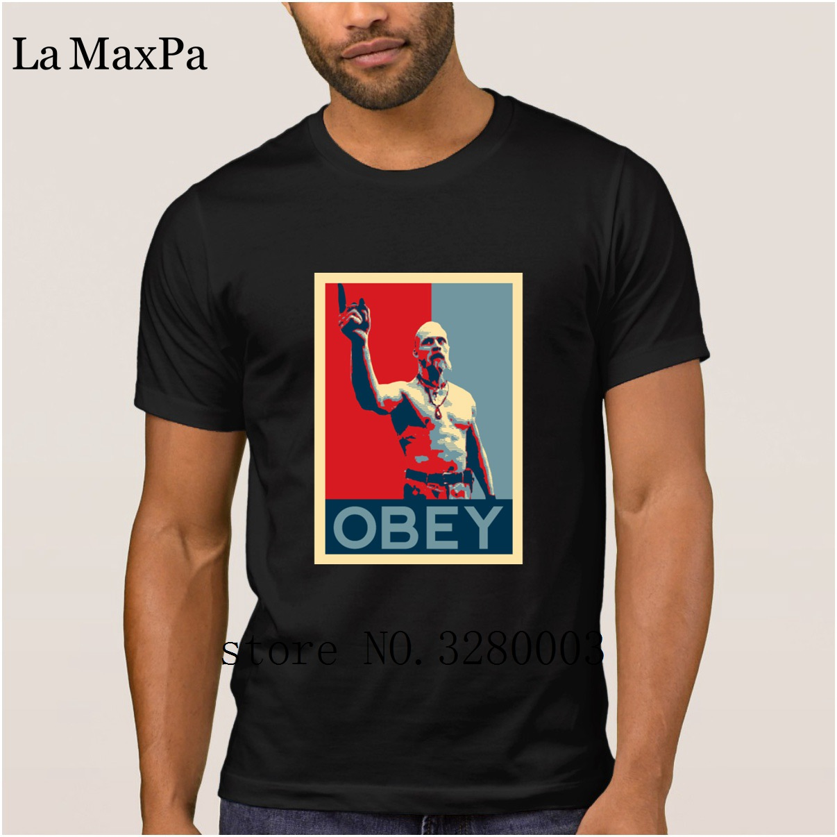 La Maxpa create Funny Casual men t shirt techno viking t shirt Spring Autumn Pictures tee shirt for men round Neck Fitness-in T-Shirts from Men's Clothing