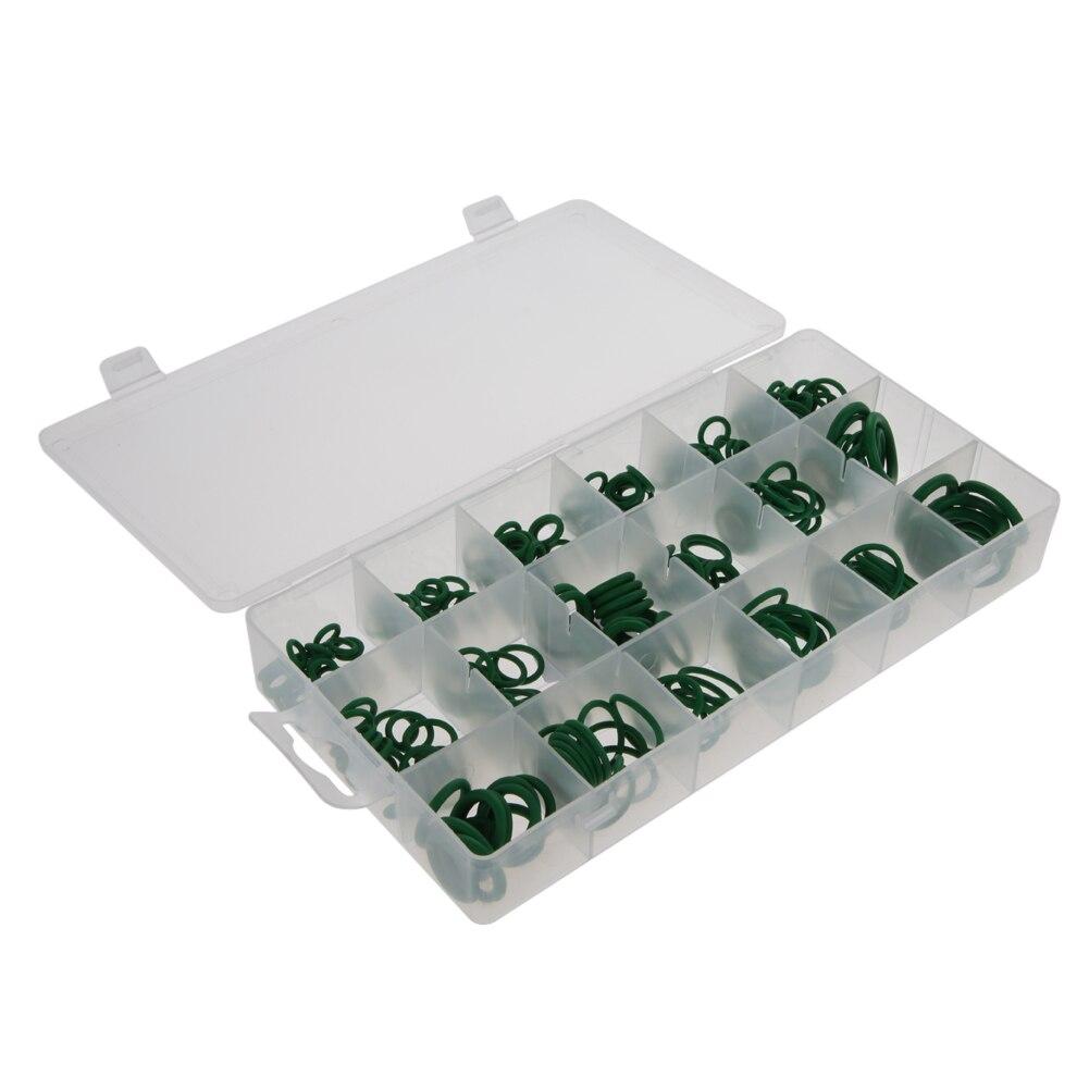 180/270 قطعه 18 کیت مجموعه ای از حلقه های لاستیکی O اندازه 18 ، سیاه و سفید حلقه های حلقه ای مهر و موم های لاستیکی سیاه و سفید