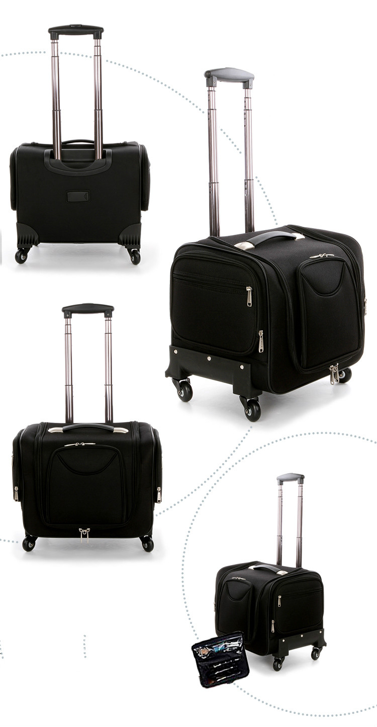 Travel Vanity Cosmetic Bag Makeup Case W Light Makeup