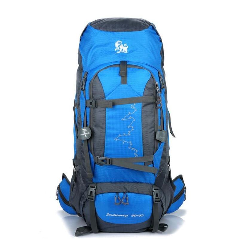 85L Outdoor Camping Large Capacity Sport Backpacks Shoulder Bag Hiking Backpack Athletic Sport Men Travel Bag S401 цена