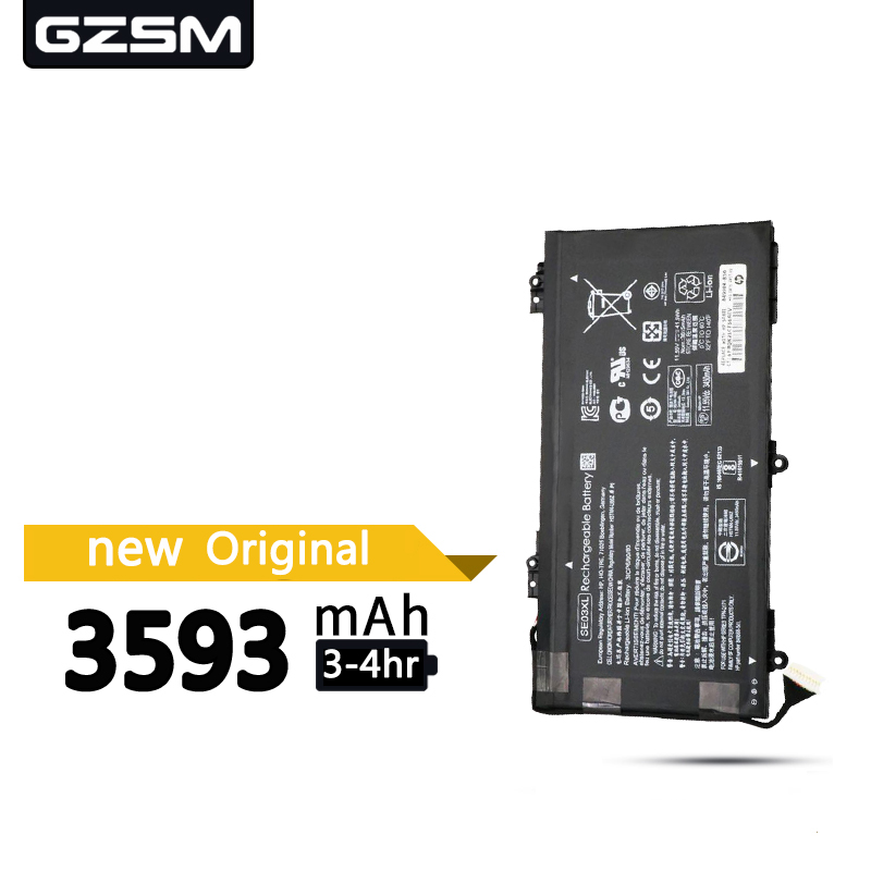 GZSM Laptop Battery SE03XL For HP 14A-L100 Battery For Laptop 14-AL125TX HSTNN-LB7G HSTNN-UB6Z TPN-Q171 849568-541 Battery