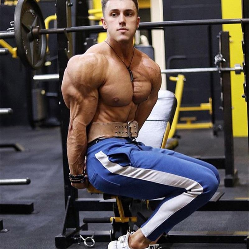 HTB1vbmTXeP2gK0jSZFoq6yuIVXaG ENJPOWER New Men Pants Hip Hop Fitness clothing Joggers Sweatpants Side stripe classic fashion Streetwear Track Pants Trousers