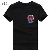 Ocean Style Men T Shirt Fashion Streetwear Design Tops Popular Wave Printed T Shirts Punk Hipster