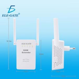 Image 3 - 300 mbps 무선 릴레이 새로운 듀얼 안테나 듀얼 네트워크 포트 무선 wifi 신호 증폭기 무선 ap