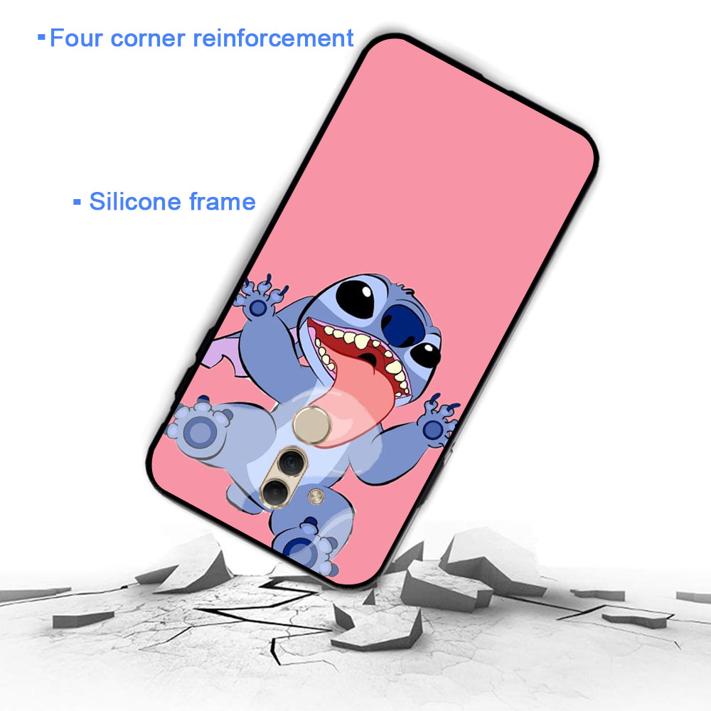 YIMAOC Lilo Stitch fashion design Soft Case for Huawei Y5 Y6 Y7 Prime Y9 Mate 10 20 Lite Pro Nova 2i 3 3i 4 Lite in Fitted Cases from Cellphones Telecommunications