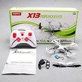 2016 Syma X13 MILAGRE 6-Axis GYRO 2.4G 4CH com 360 Graus Função Eversão 3D Mini RC Helicopter & Quadcopter Quad Copter RTF