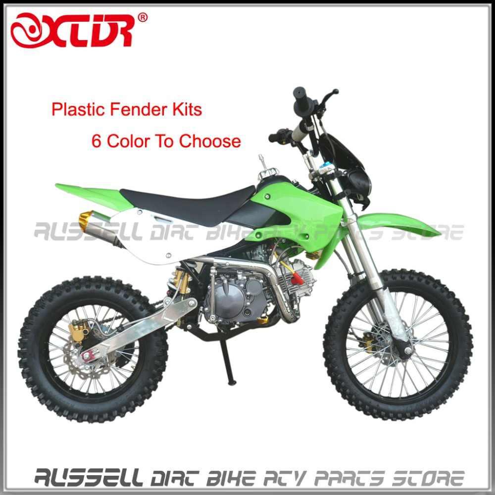 klx110 plastic fenders covers kits for kawasaki klx 110 kx65 suzuki drz  110 drz110 pit bike