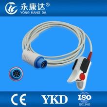 Frete Grátis para 13Pin Plug Mennen Envoy (Módulo Masimo) Adulto Clipe de Dedo Spo2 Sensor Sonda