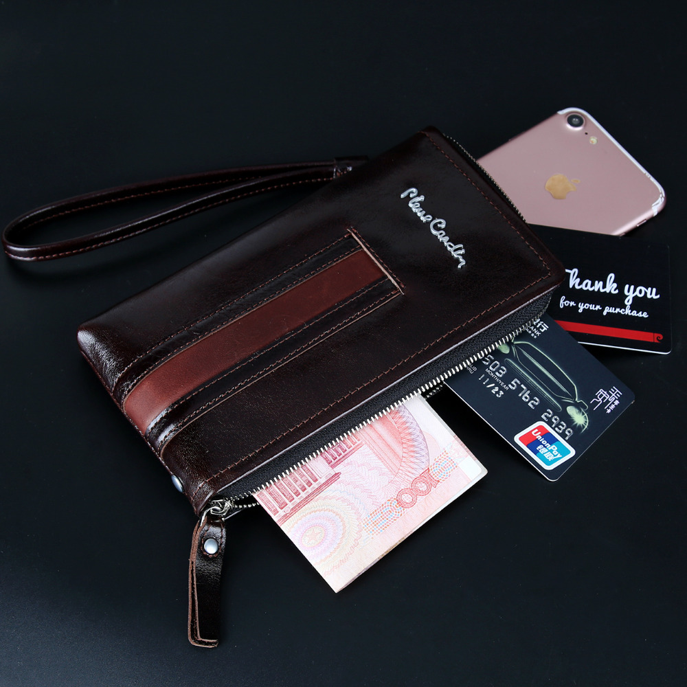 For Apple iPhone XR XS Max Case Pierre Cardin Cover Casual Reticule Bag Man Bag Pouch