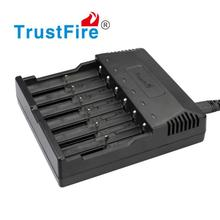 TrustFire TR-012 Universal Digicharger Intelligent 6 Slots Battery Charger For 26650/18650/16340/14500/AA/AAA Lithium Batteries цена