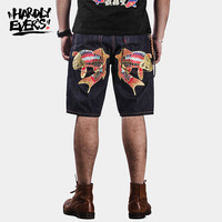 25BOY HARDLY EVER S Denims Pants Chinese Style Jeans Shorts