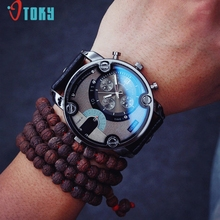 Excellente Qualité OTOKY Quartz Hommes Montres Top Marque De Luxe Célèbre Montre-Bracelet Homme Horloge Montre De Mode montre Relogio Masculino