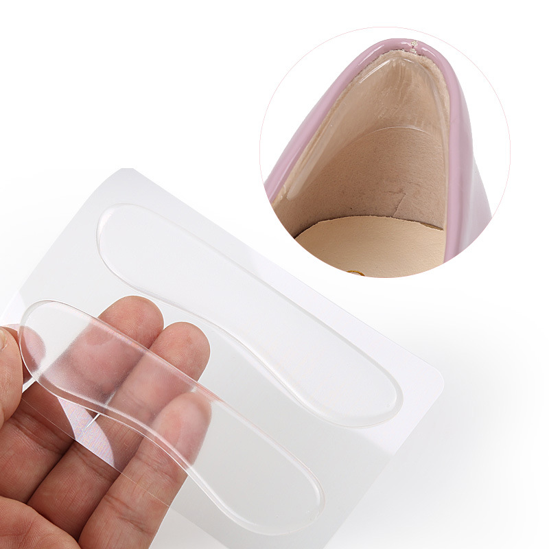 Image 5 - Silicone Insoles for Shoes Anti Slip Gel Pads Foot Care Protector for Heel Anti Rubbing Cushion Pads Shoes Insoles Insert-in Foot Care Tool from Beauty & Health
