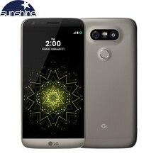 """Оригинальный разблокирована LG G5 4 г LTE мобильный телефон 4 ядра 4 г Оперативная память 32 г Встроенная память 5.3 """"16.0mp Камера отпечатков пальцев Смартфон"""