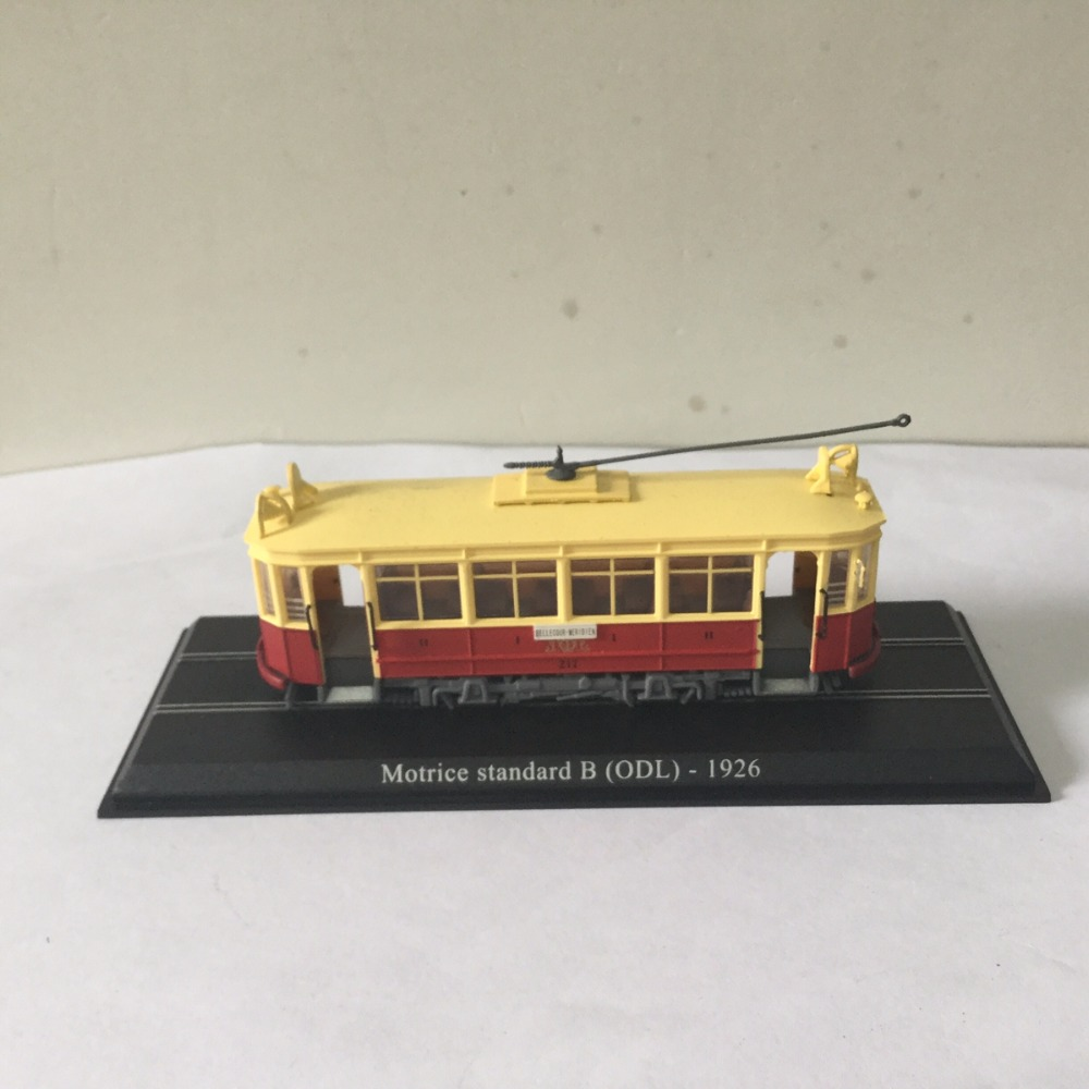 LIMITED ATLAS 1:87 Motrice Standard B (ODL)-1926 BELLECOUR-MERIDIEN TRAM Model For Gift In Perfect Condtion