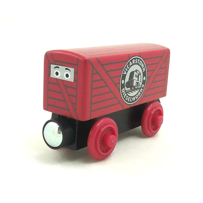 W65 free shipping RARE Dart in Disguise Thomas And Friends Wooden Magnetic Railway Model Train Engine Children track Toy