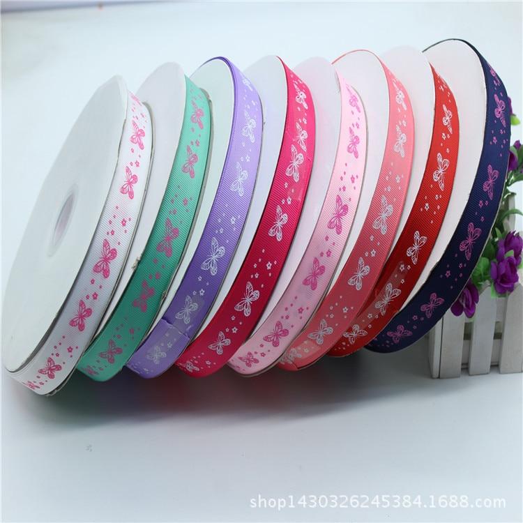 Livraison gratuite bande de gros-grain personnalisée impression bande/étiquette de collier de vêtement/ruban de paquet de cheveux/étiquettes imprimées/marque