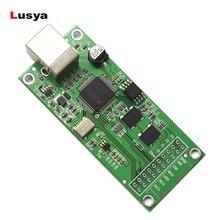 مدخل I2S واجهة الصوت الرقمية U8 XU208 XMOS USB SITIME كريستال ترقية وحدة Amanero غير متزامن لفك التشفير C6 006