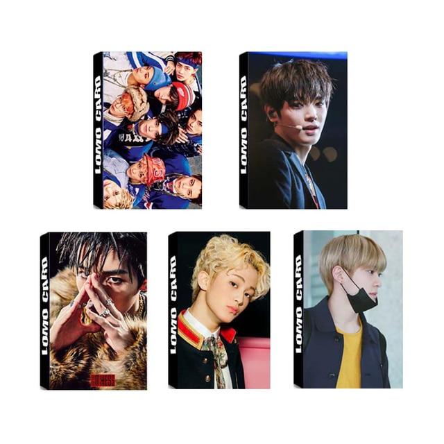 US $1 64 45% OFF|Youpop KPOP NCT U 127 NCT127 VÔ HẠN ĐÁNH DẤU WINWIN  Taeyong Album LOMO Thẻ K POP Tự Made Giấy Ảnh Thẻ Photocard