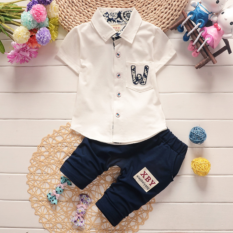 BibiCola summer baby boys clothing set boys clothes sport suit set top+pants 2pcs kids christmas costume children clothing одежда на маленьких мальчиков
