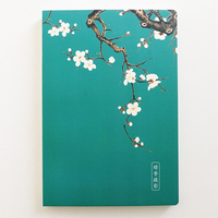 A5 Chinese Style Notebook with Traditional Chinese Pattern Stationery Bullet Journal Bujo