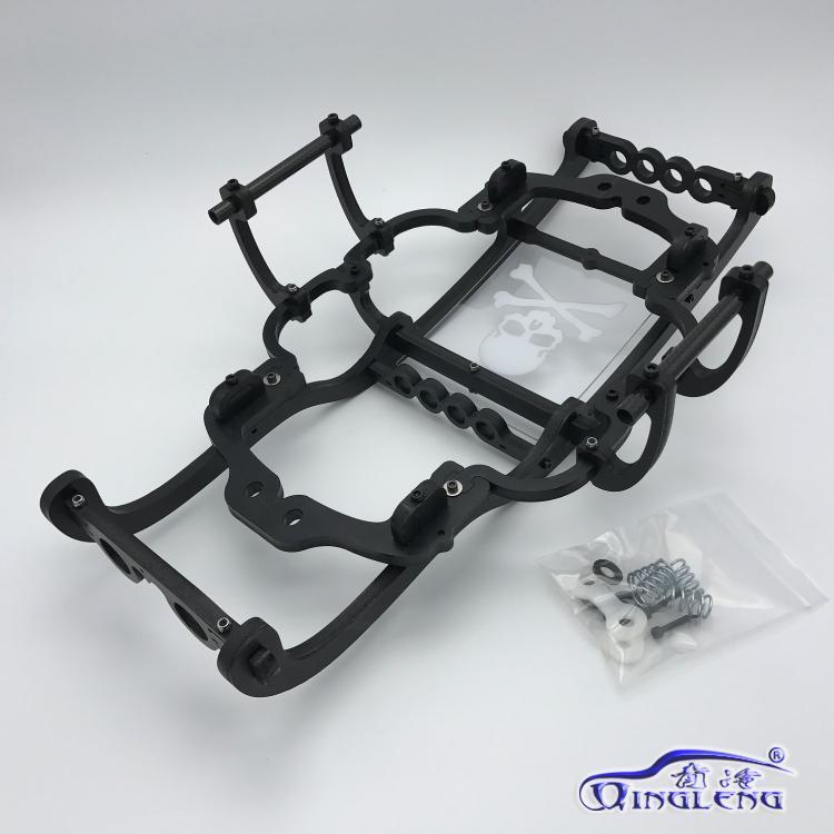 ทั้งหมดพลาสติกม้วนกรง/ปกป้อง roll cage (นำเข้าวัสดุ) qingleng roll cage สำหรับ HPI 1/8 SAVAGE XL FLUX-ใน ชิ้นส่วนและอุปกรณ์เสริม จาก ของเล่นและงานอดิเรก บน   1