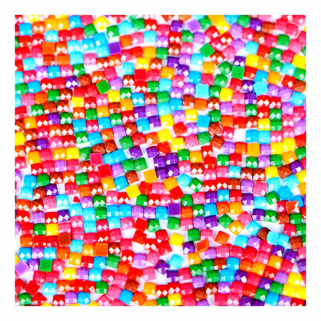 447 Colors Full Square/Round Rhinestones