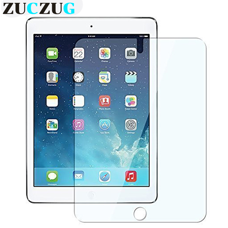 Apple iPad 2017 2018 üçün Tempered Glass iPad Air 1 2 iPad qoruyucu film