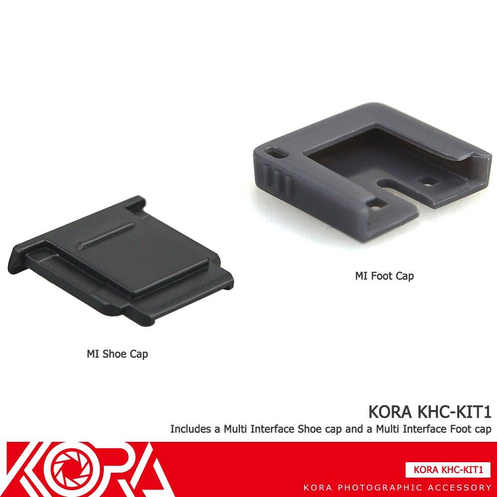 Kora Hot Shoe Cover Pour Sony A7RII A77II A7S A3500 A6000 RX10II RX100II RX1RII A7SII A6300 comme FA-SHC1M MI Chaussure Connecteur Cap