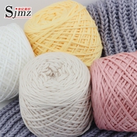 Line Scarf Knitting Line Milk Silk Cotton Thick Yarn 400g Lot