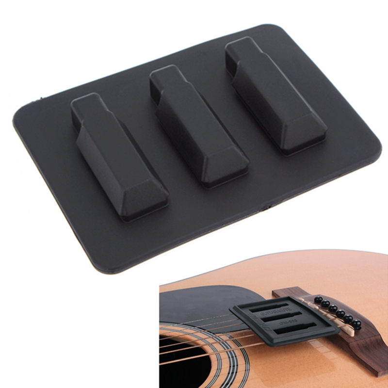acoustic classical guitar mute silica gel practice guitar silencer musical instruments parts. Black Bedroom Furniture Sets. Home Design Ideas