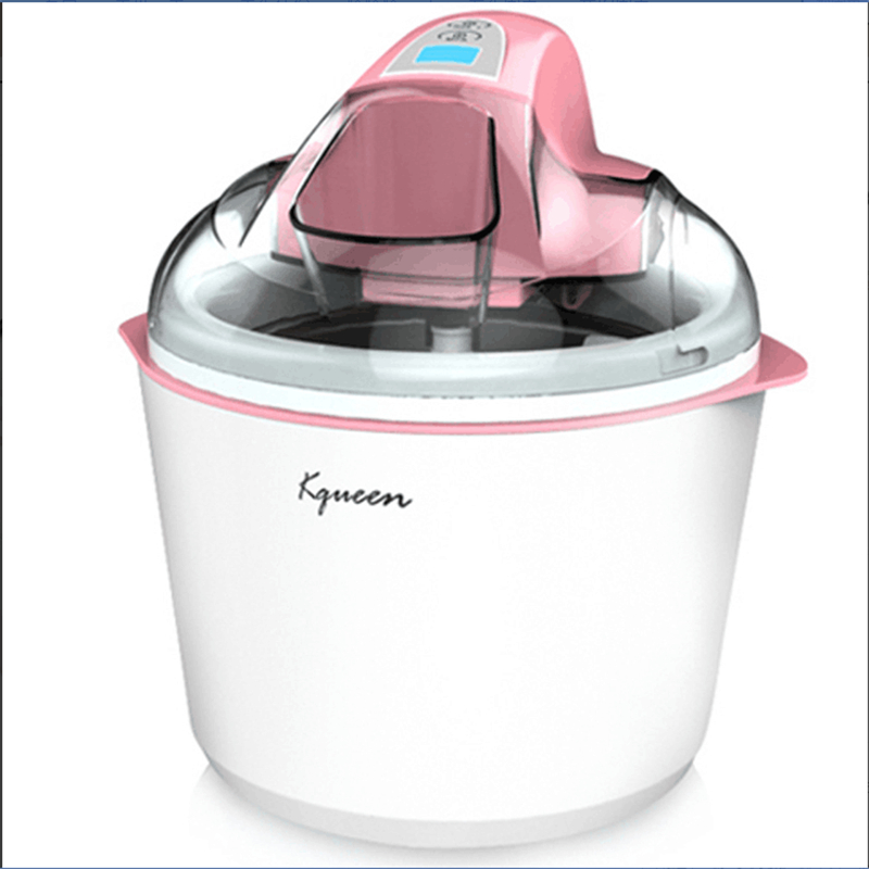 Homemade Ice Cream 1.5L Large Capacity 220V Ice Cream Machine Automatic DIY Milkshake Ice Cream Maker EU/AU/UK/US Plug bl 1000 automatic diy ice cream machine home children diy ice cream maker automatic fruit cone soft ice cream machine 220v 21w
