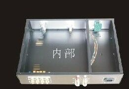 Image 5 - AV Meter AMP astuccio Box/Scatola/Pannello Oro/amplificatore telaio/Merge Amplificatore Telaio/Ferro alluminio telaio