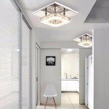 12W Ceiling Lamp Crystal 85-265V LED Bulb Base High Light Transmittance Cool White/Warm White Modern Pendant Lamp