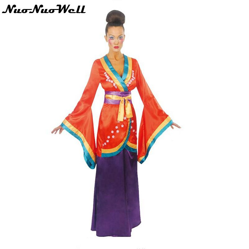 Nouveauté adulte femme Kimono Cosplay Costume Cosplay reine jeu de rôle pour Halloween Performance Party