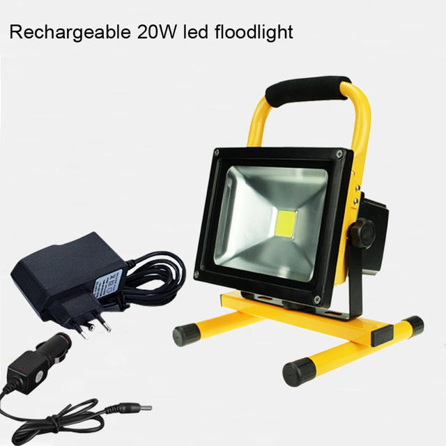 Ccc New Spotlight Flood Lights Rechargeable Led Floodlight Lithium Ion Battery 20w 30w Lamp