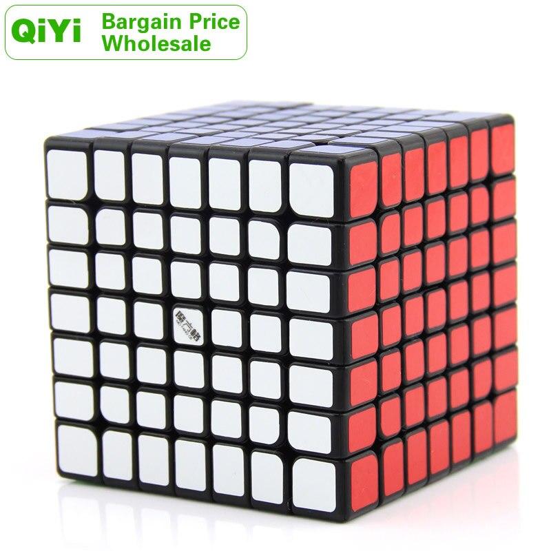 QiYi Wuji 7x7x7 Cube magique MoFangGe XMD 7x7 gros Lots en vrac 6 pièces Cubo Magico néo vitesse Cube Puzzle Antistress Fidget jouets