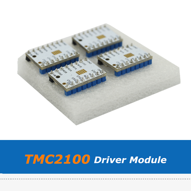 4pcs/lot Super Silent MKS V1.3 TMC2100 Stepper Motor Driver Stepstick