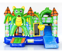 Hot selling inflatable playground kids outdoor trampoline inflatable bouncer house