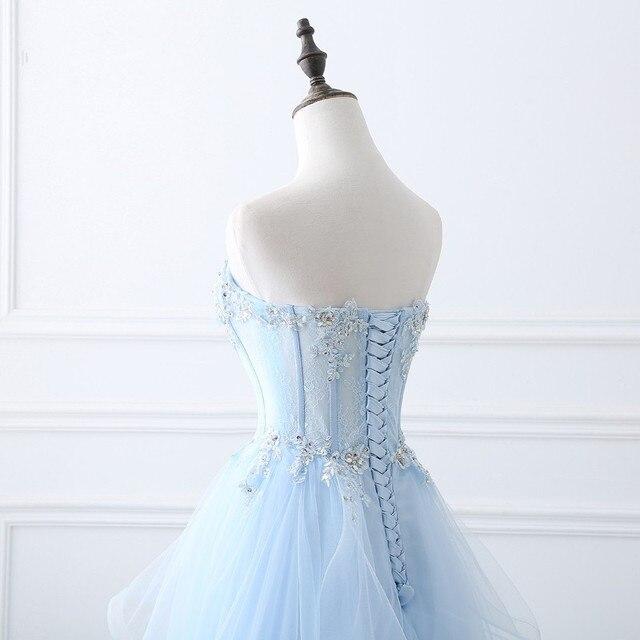 роскошные светильник голубые длинные вечерние платья без рукавов фотография