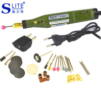 Slite Mini Electric Engraving Pen DIY Engraver Variable Speed Drill Grinder For Wood Dremel Accessories Sharpening Knives