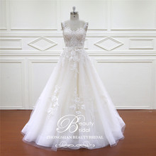 Beautybridal robe de mariage querida boêmio laço vintage boho praia vestido de casamento romântico vestidos de casamento xf16017