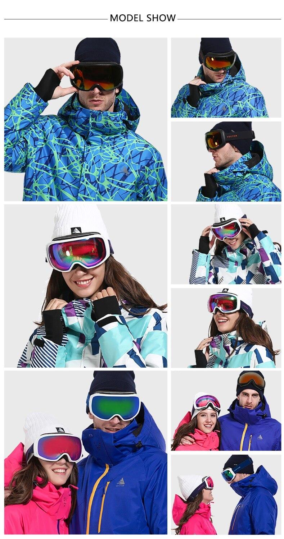 VECTOR ապրանքանիշի դահուկային ակնոցներ - Սպորտային հագուստ և աքսեսուարներ - Լուսանկար 5