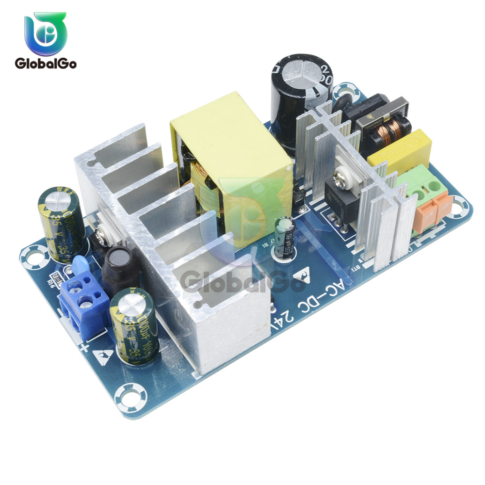 100W 4 A-6A High Power Switching Power Supply Board AC 110V 220V to DC <font><b>24V</b></font> Power Transformer Step Down Voltage Regulator image