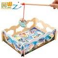 Магнитная Рыбалка Деревянные Детские Игрушки Образовательных Головоломки Раннего Детства Обучающие 3 Стиль